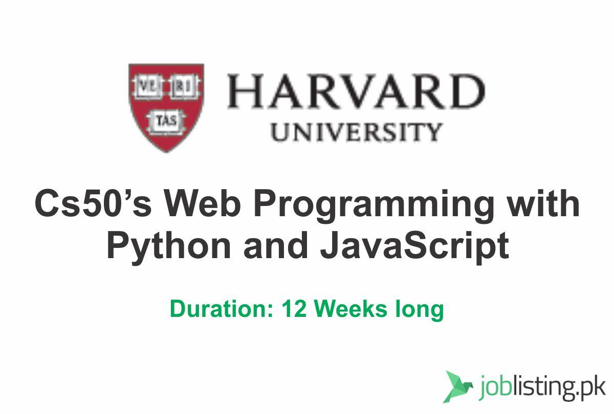 CS50's Web Programming with Python and JavaScript