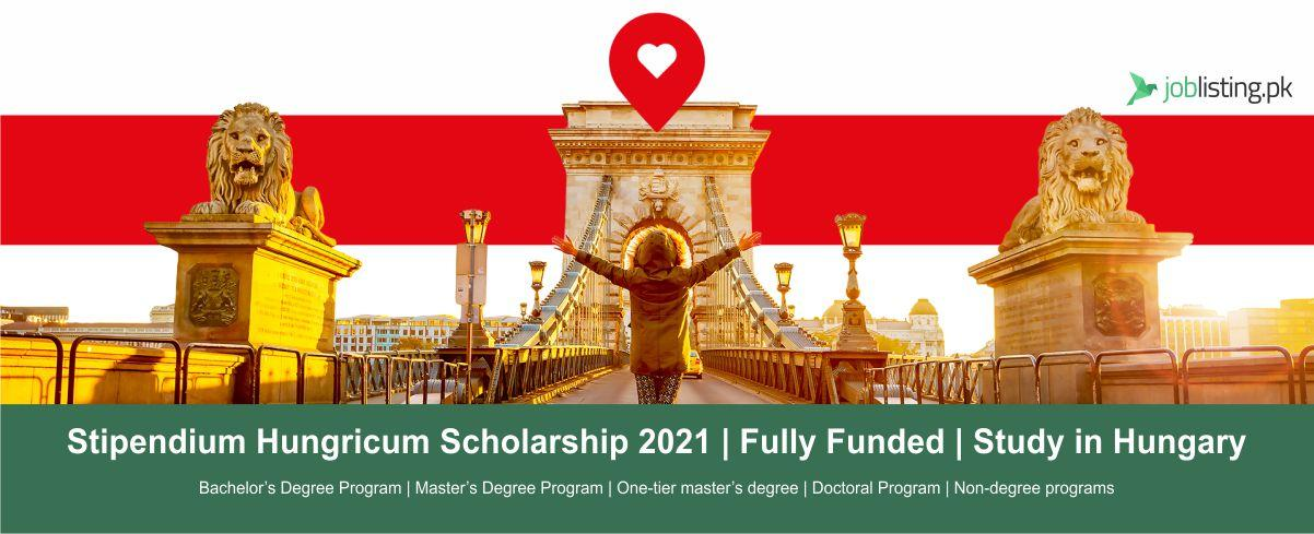 Stipendium Hungricum Scholarship 2021 | Fully Funded | Study in Hungary